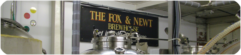 The Brewery in the Cellar of the Fox & Newt